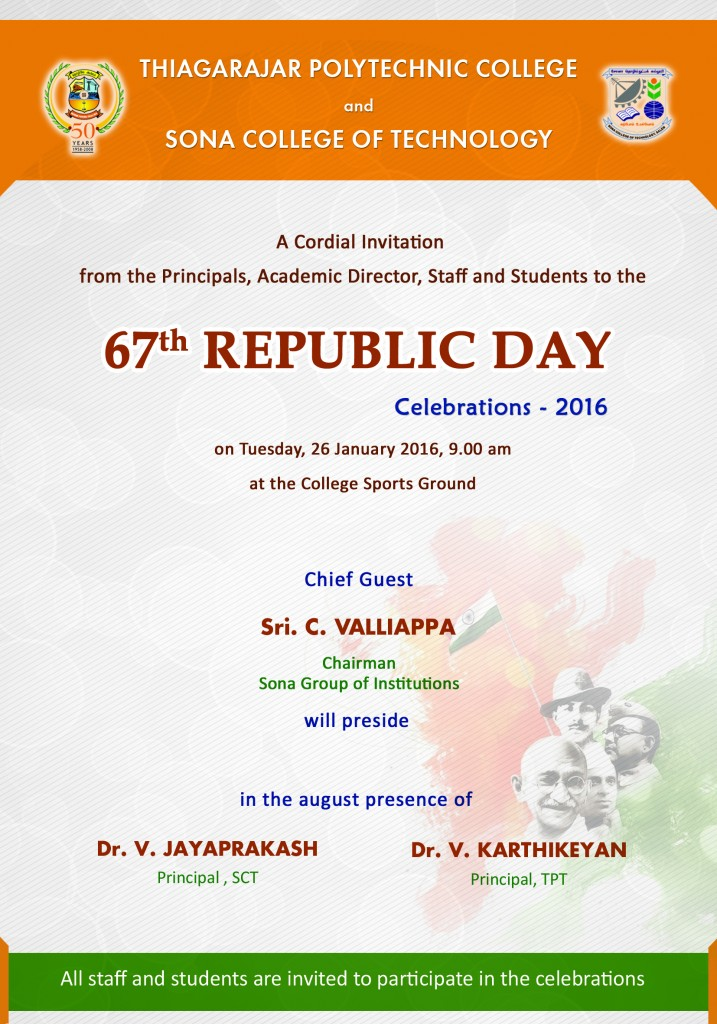 Republic Day 2016 India Sona News
