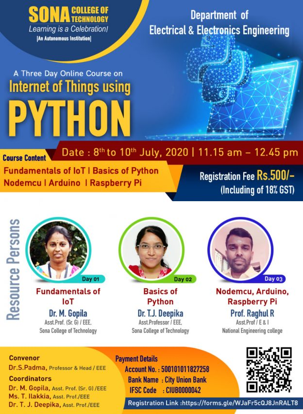 Internet of things using Python