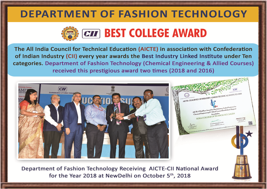 Fashion Technology College and Courses | Salem| Tamil Nadu