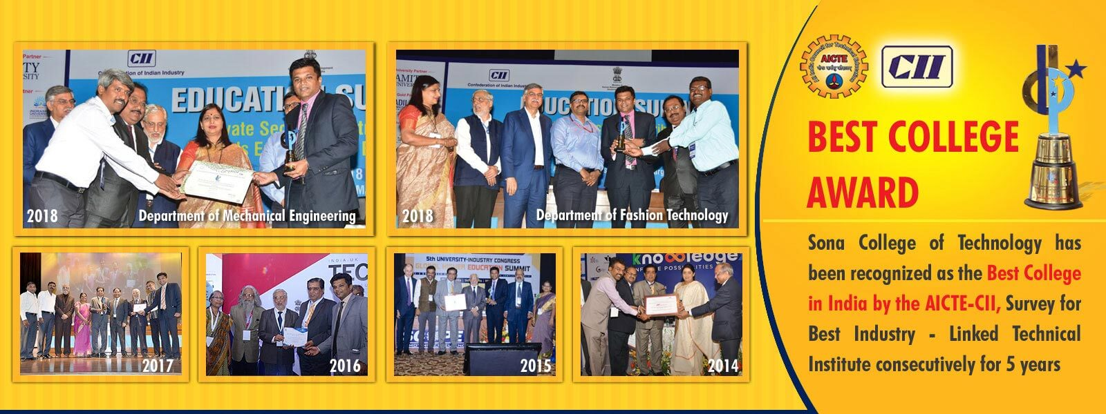 AICTE CII awards