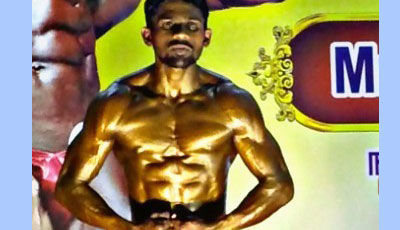 Sona Student becomes Mr.Tamilnadu