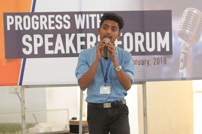 sona Student Speakers Forum