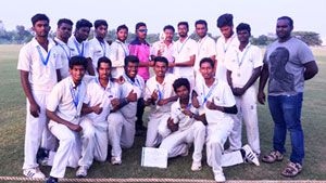 SONA secured Runners up title in Cricket