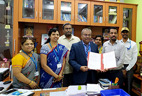 Sona signed an MoU with HireMee