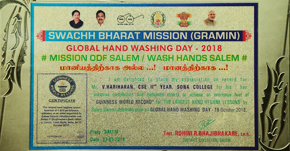 Guiness World Record – Global Hand Wash Day 2018