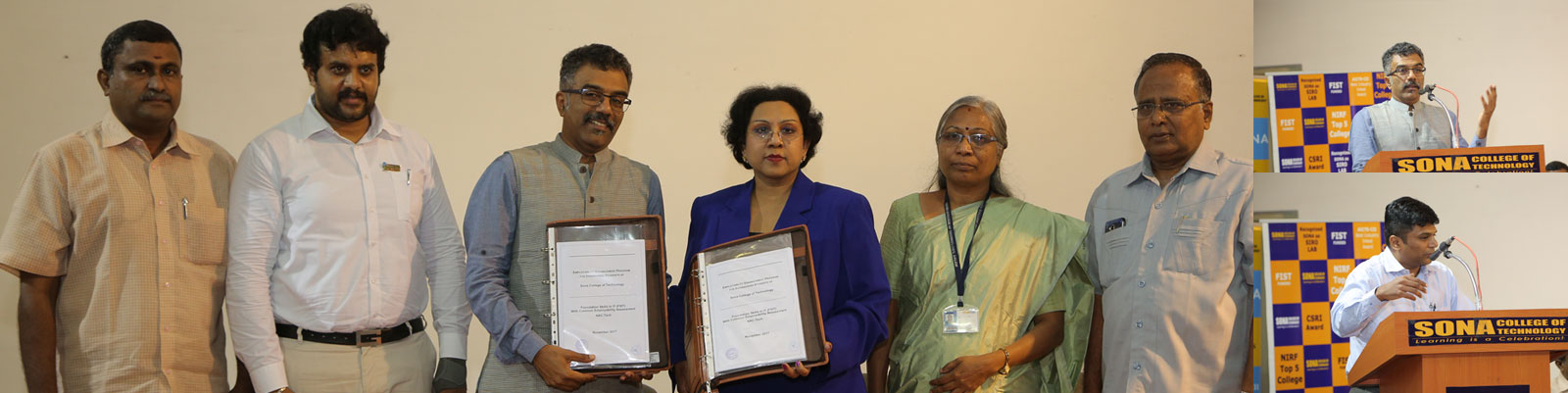 Sona Signed a MoU with Nasscom