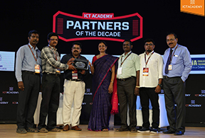 Partners of the Decade by ICT Academy