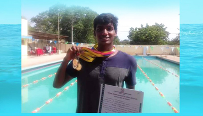 SONA outshine in University Swimming