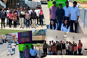 Sona students at Australia for Foreign technical training program