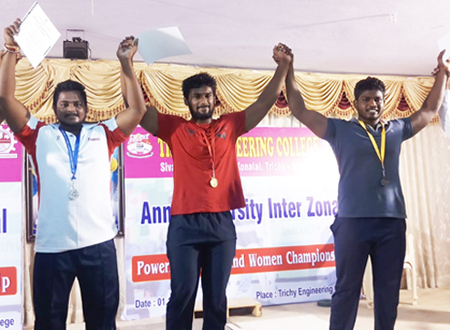 SONA Lifts Gold in Powerlifting