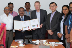 Sona signed an MoU with Swinburne University
