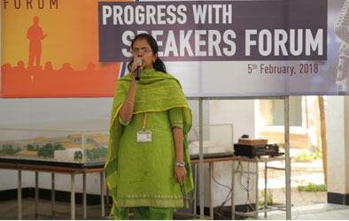 Sona Students Speakers forum