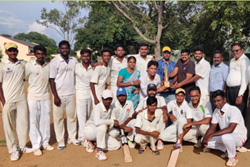 Sona Cricket Team Championship