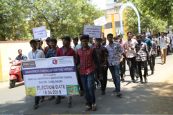 Awareness Campaign Rally for the Voting